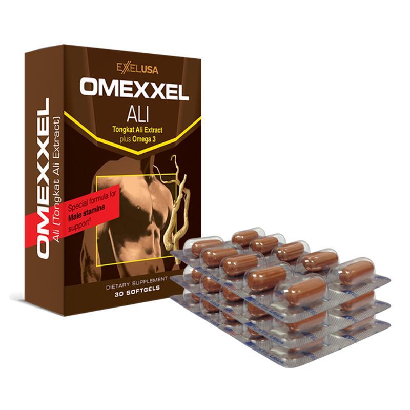 Viên uống tăng cường sinh lý nam Omexxel Ali 30 viên - Xuất xứ Mỹ nhập khẩu