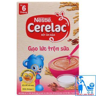 Bột Ăn Dặm Dinh Dưỡng Nestlé Cerelac Gạo Lức Trộn Sữa Hộp 200g (Dành cho trẻ từ 6 tháng tuổi) thumbnail