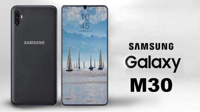 Điện thoại Samsung Galaxy M30 - Bảo hành 12 tháng trên toàn quốc