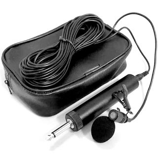 6.5mm Microphone Mic for Erhu Saxophone Violin Musical Instrument Eco-Friendly Lavalier Lapel Micro
