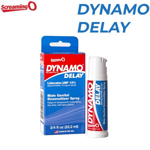 [ Dynamo Delay ] Xịt DYNAMO DELAY 22.2ml - Xịt kéo dài thời gian quan hệ cao cấp