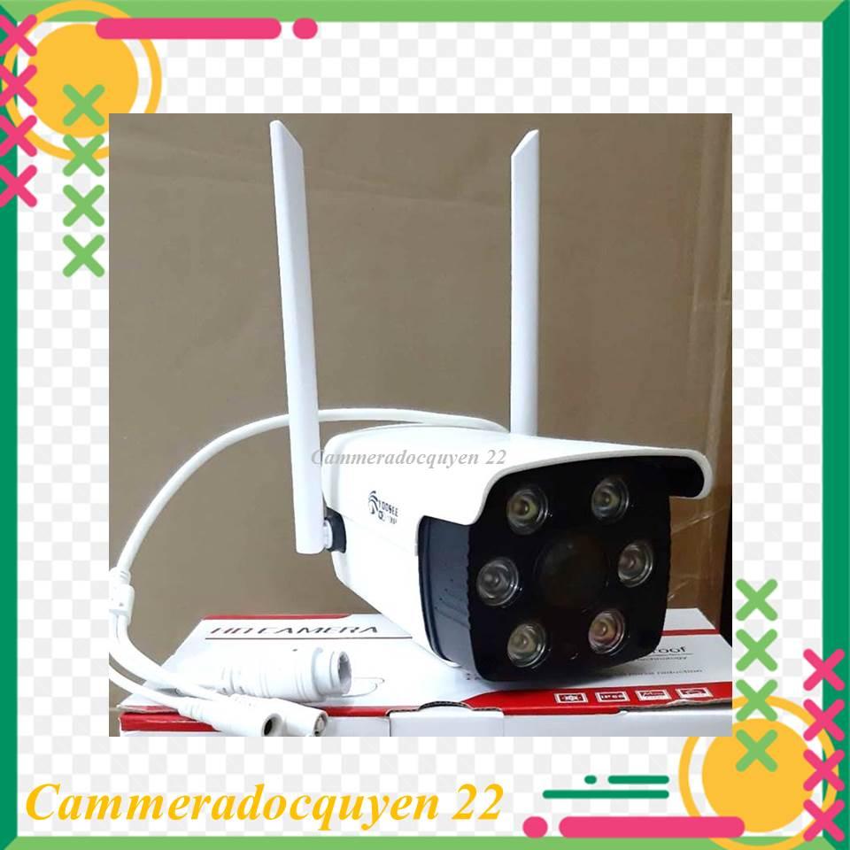 Camera IP Wifi Ngoài trời app Yoosee 2 Râu 1080P - LED trợ sáng quay đêm có màu, chống nước chống bụi...
