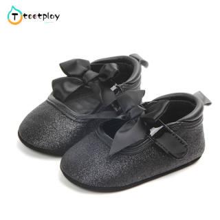 Tootplay Giày Em Bé Dễ Thương, Giày Thể Thao Chống Trượt Công Chúa Mềm Cho Trẻ Tập Đi
