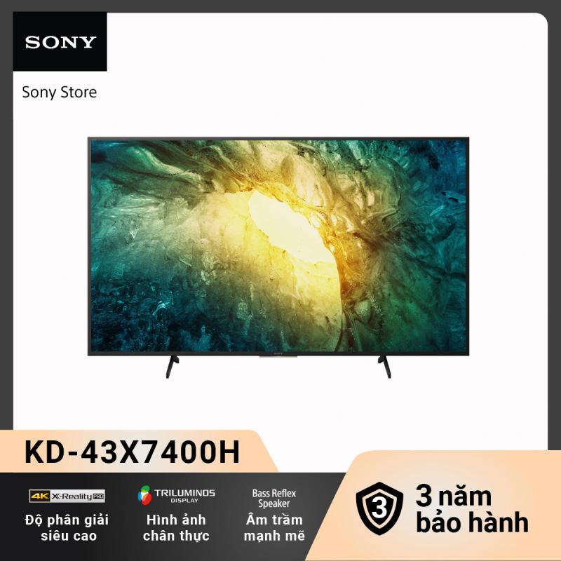 Bảng giá [Trả góp 0%] Android Tivi Sony  4K 43 Inch KD-43X7400H