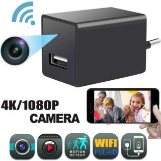 ( HOT ) Camera Mini HD 1080P Wifi USB Sạc Máy Ảnh Tầm Nhìn Ban Đêm Giám Sát Theo Dõi Từ Xa Phát Hiện Chuyển Động Micro Máy Quay Phim thumbnail