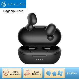 Tai nghe không dây Haylou GT1Pro True Bluetooth 5.0 Hộp đựng dung lượng lớn 800mAh Đèn LED hiển thị lượng pin Điều khiển cảm ứng Kèm Mic kép Giảm tiếng ồn Tai nghe TWS Android iOS Chống nước IPX5 thumbnail