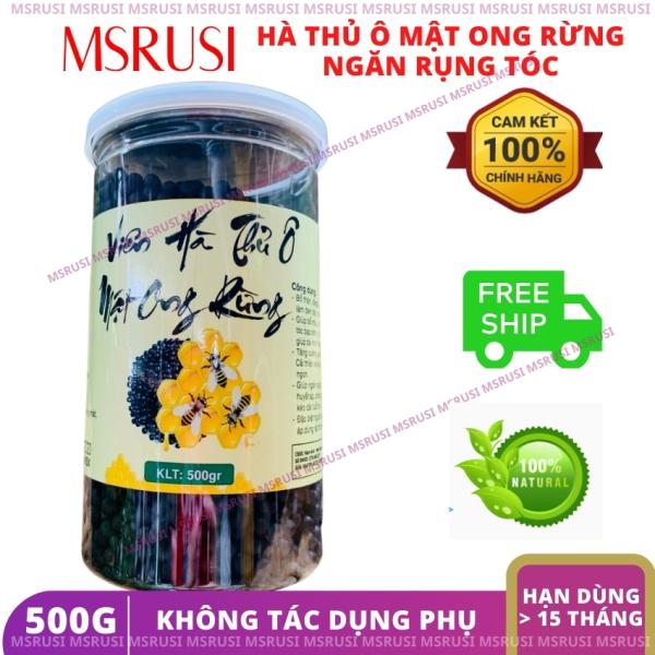 Hà Thủ Ô 500g mật ong rừng dạng hoàn ngăn rụng tóc MSRUSI