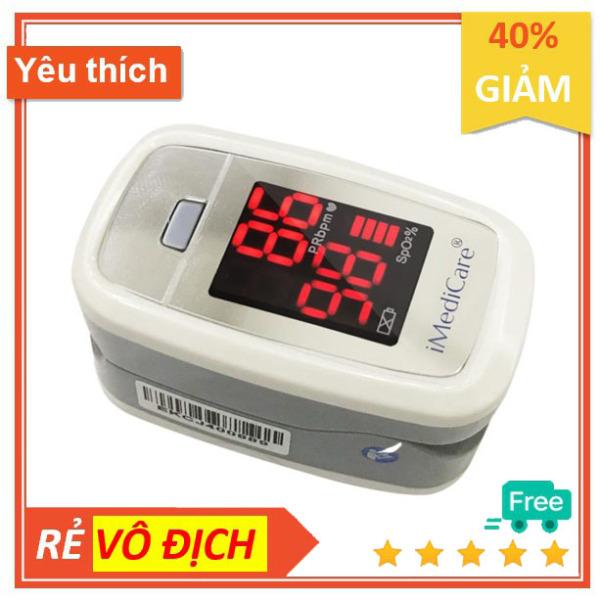 Nơi bán Máy đo nồng độ Oxy trong máu SpO2 và nhịp tim Imedicare A3 thương hiệu Singaprore