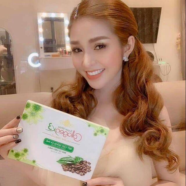 Tắm Trắng Cafe cao cấp collagen x3 nhập khẩu
