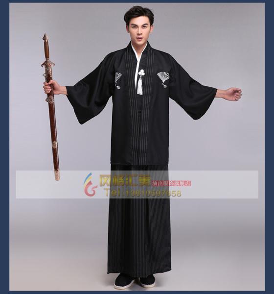 (CÓ SẴN) Bộ Đồ Kimono Nam Phong Cách Samurai Trang Phục Yukata Nam Nhiều Màu Sắc Cho Khách Lựa Chọn