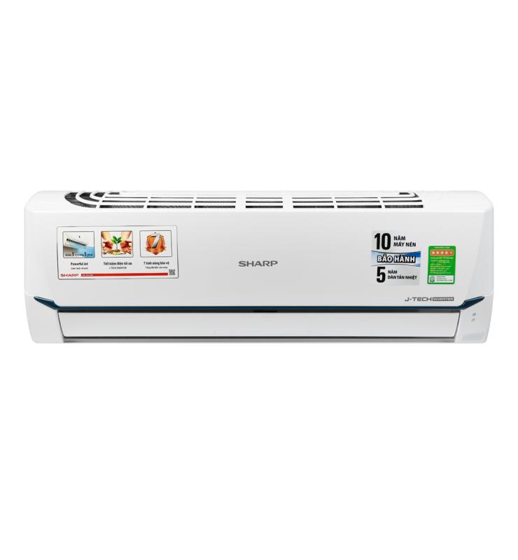 Bảng giá Máy lạnh Sharp Inverter 1.5 HP AH-X12XEW MODEL 2020 Lọc bụi, kháng khuẩn, khử mùi:Lưới bụi polypropylene Chế độ làm lạnh nhanh:Powerful Jet Chế độ gió:Điều khiển lên xuống tự động, trái phải tùy chỉnh tay