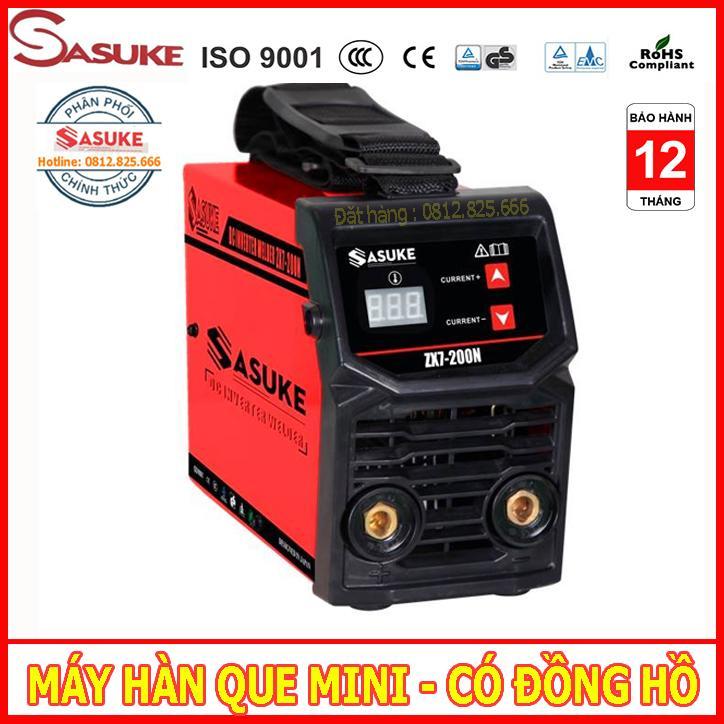 máy hàn điện tử, máy hàn que mini SASUKE mã ZX7-200N có đồng hồ hiển thị dòng hàn, máy hàn mini, máy hàn que, may han dien tu, máy hàn tốt, may han mini, máy hàn mini gia đình, máy hàn que mini, máy hàn sasuke