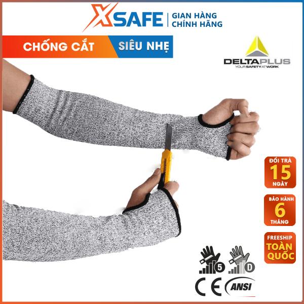 Găng tay chống cắt Deltaplus Econocut 5M cấp độ 5. Găng tay bảo hộ chuyên dụng cho cơ khí kỹ thuật, làm việc với tôn, kính, máy móc …  CHÍNH HÃNG [XSAFE]