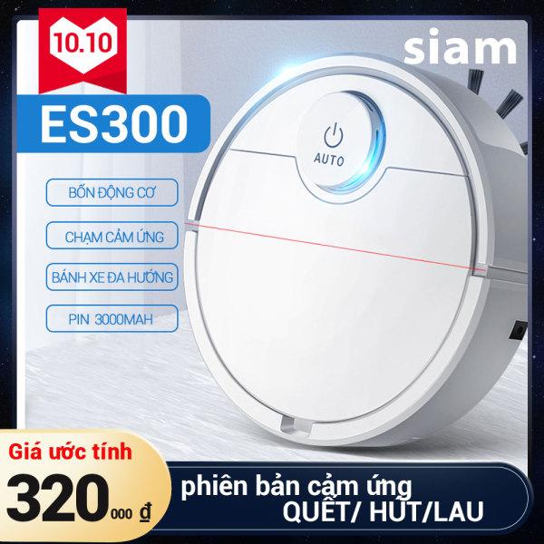 Siam máy hút bụi tự động ES300-Lau dọn thông minh, Robot quét nhà