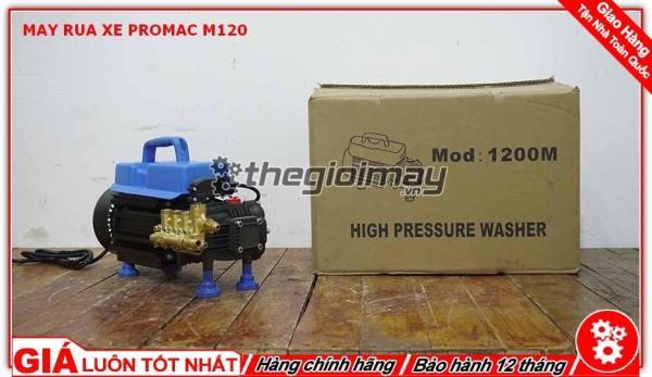 Máy rửa xe, rửa máy lạnh M120 (tự ngắt)