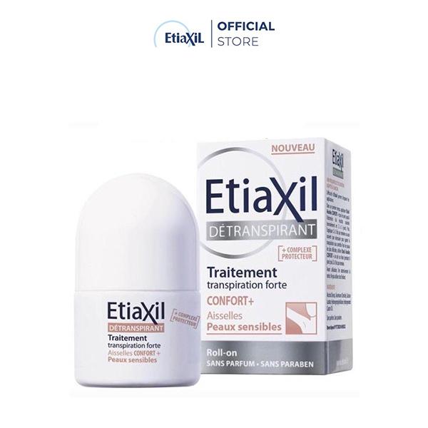 Lăn Khử Mùi Etiaxil Ngăn Mồ Hôi Dành Cho Da Siêu Nhạy Cảm 15ml (Màu Nâu)