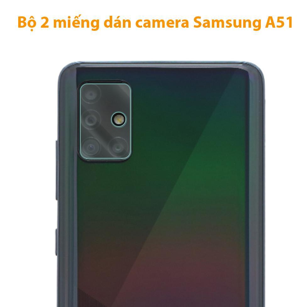 Giá Bộ 2 cường lực camera Samsung A51 (2019)