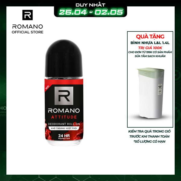 Lăn khử mùi Romano Attitude 50ml giá rẻ