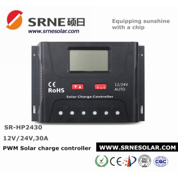 Bảng giá [HCM]Sạc điều khiển PWM 30A auto 12/24V - HP2430