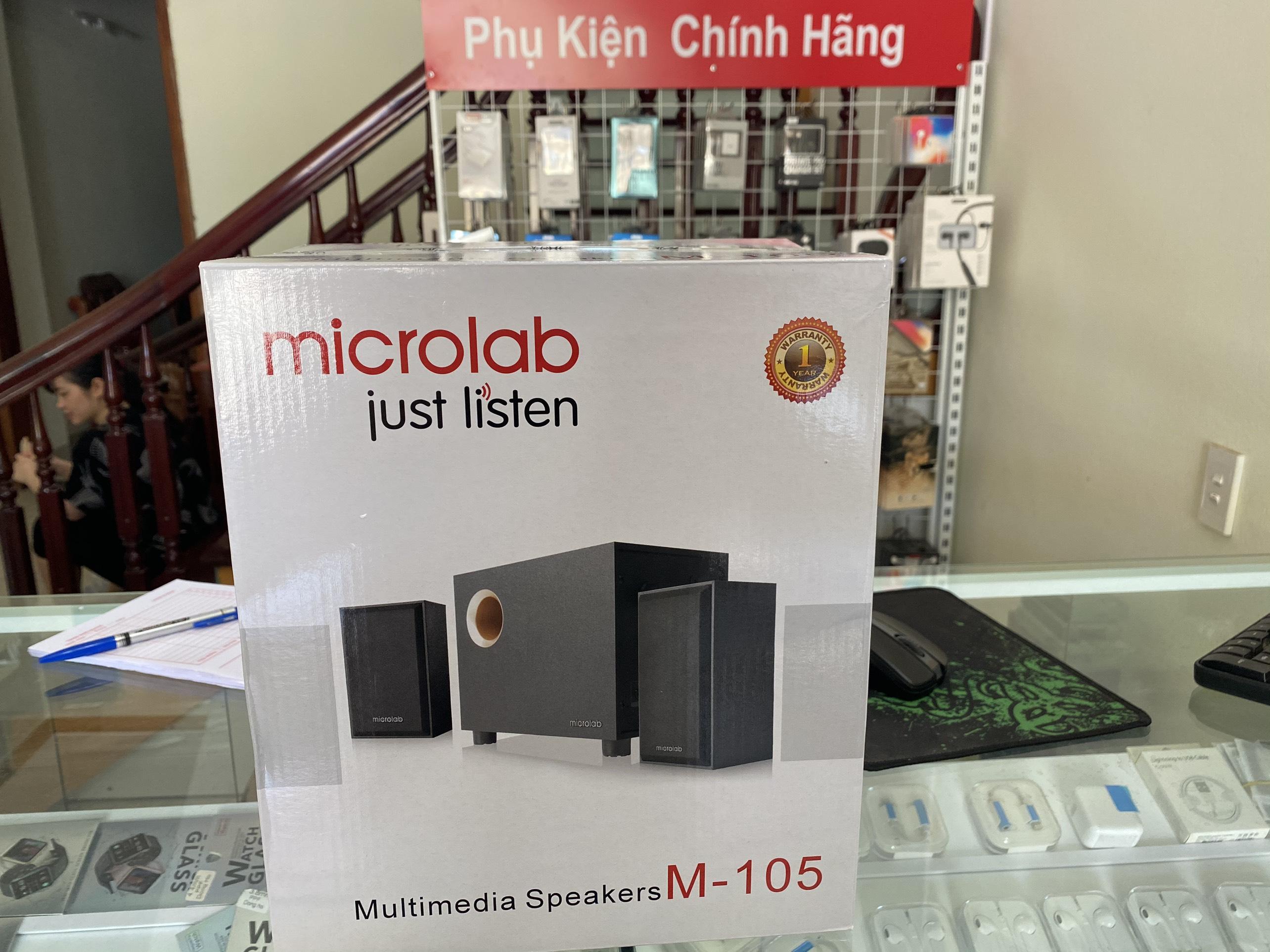 Loa Microlab M105 - Hàng Chính Hãng ( Giá rẻ số 1 )