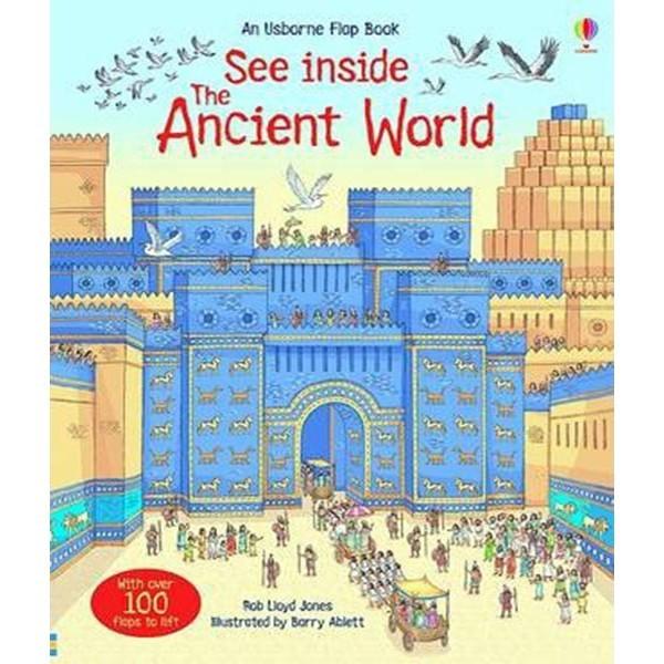 Sách : Khám Phá Thế Giới Cổ Đại - See Inside The Ancient World