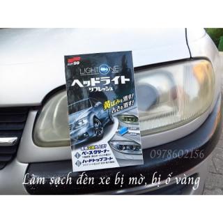 Dung dịch làm sạch và trong đèn ô tô Light One chính hãng từ Soft99 Nhật Bản thumbnail