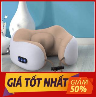 Gối massage cổ đa năng chữ U cao cấp, Máy mát xa cổ vai gáy hiệu quả kiêm gối ngủ tiện lợi, Sạc USB, Máy mát xa 3D đa năng hiện đại, HÀNG CHÍNH HÃNG BẢO HÀNH 12 THÁNG thumbnail