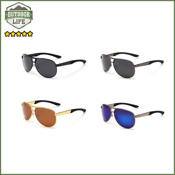 Giá bán Kính râm nam thời trang, chống tia UV400, tròng phân cực + tặng kèm hộp đựng kính