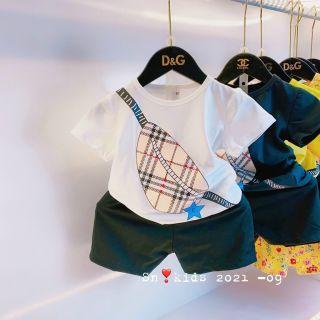 bộ quần áo trẻ em mẫu túi hình thật thumbnail