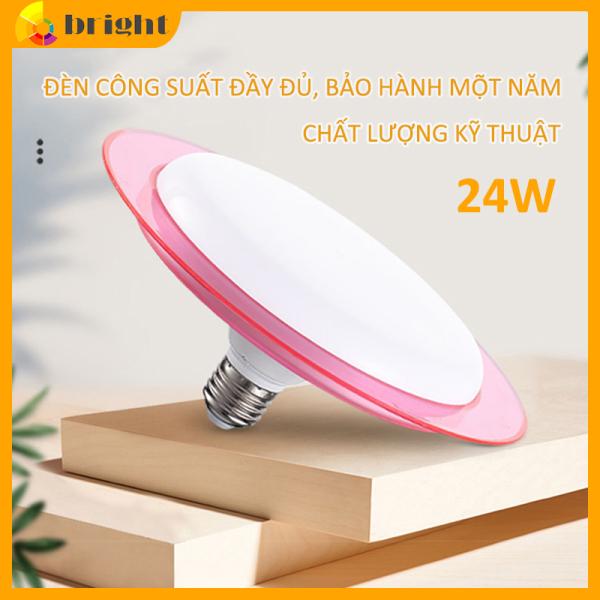 Bóng đèn Led tiết kiệm điện UFO  công suất 24W 36W 50W siêu sáng đuôi E27 bảo hành 1 năm  Flying Saucer Shape Lamp LED UFO
