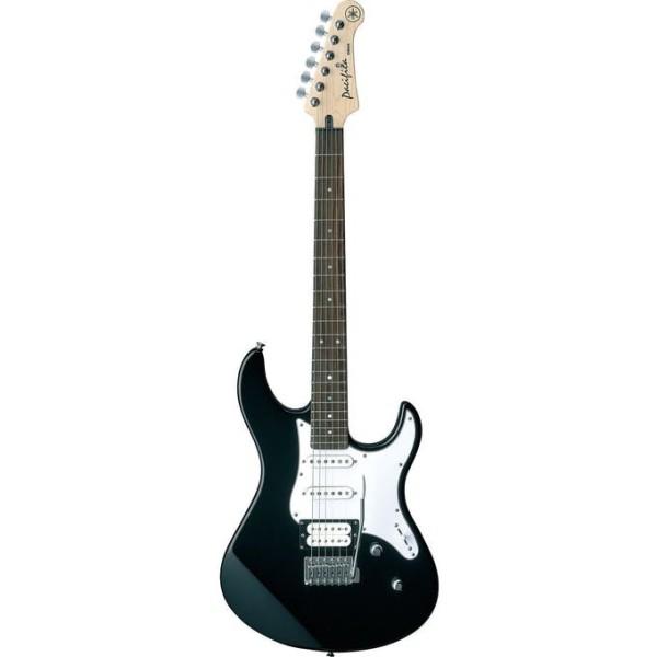 Guitar Điện, Guitar Electric Pacifica 112V BLK + Phụ Kiện + Phiếu Bảo Hành Yamaha 12 tháng - Phân phối Sol.G