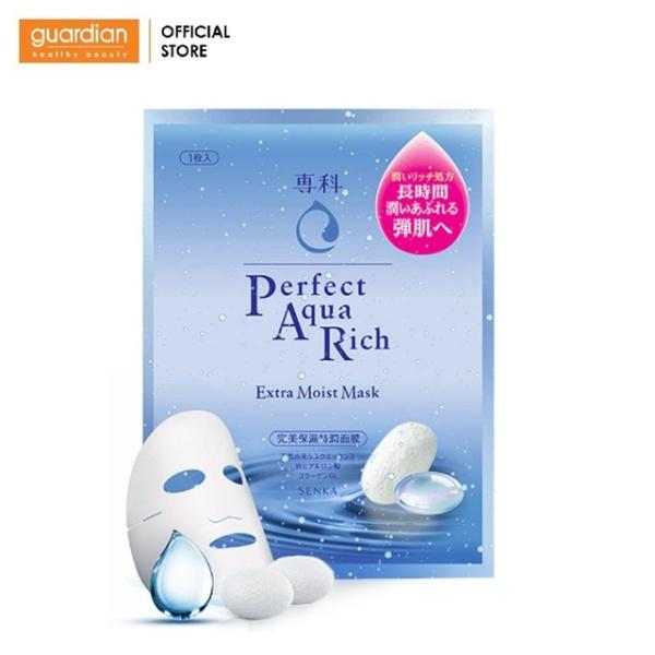 Mặt Nạ Cấp Ẩm Senka Perfect Aqua Rich Extra Moist Mask (25ml) giá rẻ