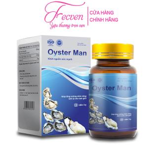 Tinh Chất Hàu Biển Oyster Man Tăng Cường Sinh Lý Nam, Cải Thiện Xuất Tinh Sớm, Yếu Sinh Lý, Hộp 30 Viên FECVEN thumbnail