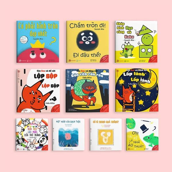 Mua Full bộ Ehon Nhật Bản cho bé 0-6 tuổi thông minh, sáng tạo