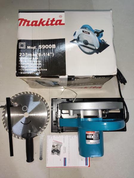 Máy cưa đĩa Makita 5900B, 2200W,  235mm, Made in Thái lan, dây đồng chịu nhiệt, kèm 1 lưỡi cưa.