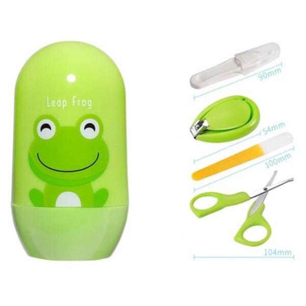 Bộ dụng cụ cắt móng tay cho bé sơ sinh 4 chi tiết giúp bạn cắt móng tay cho bé hằng ngày giữ cho bé đôi bàn tay sạch sẽ và gọn gàng