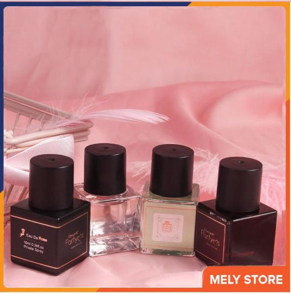 Nước hoa vùng kín cho cô bé chính hãng Romantic Party khử mùi hôi, tạo mùi thơm, nước hoa xịt vùng kín nữ mini cao cấp giá rẻ nội địa Trung 10ml Melystore SPU154
