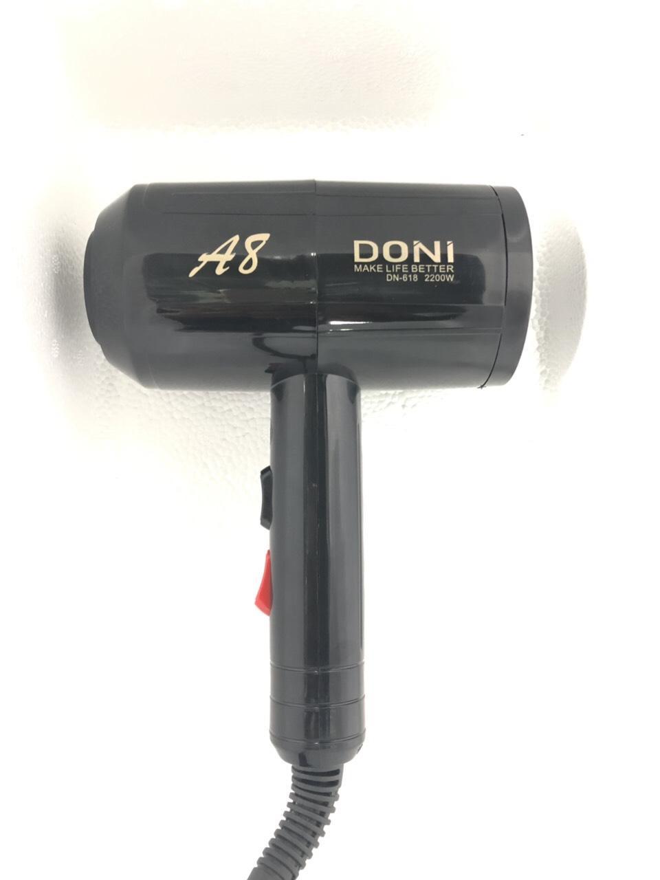 Máy sấy tóc DONI DN-618 chuẩn salon (2200W)