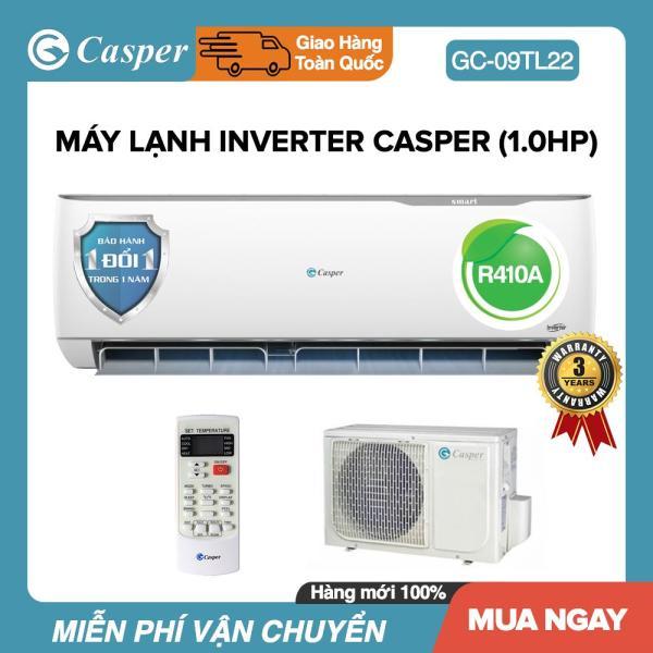 Bảng giá Máy Lạnh Inverter Casper 1HP - Model GC-09TL32 Dưới 15m2, Công Suất 9000BTU, Gas R32, Đổi mới 1 năm, Nhập khẩu Thái Lan, Máy Lạnh Giá Rẻ - Bảo Hành 3 Năm Điện máy Pico