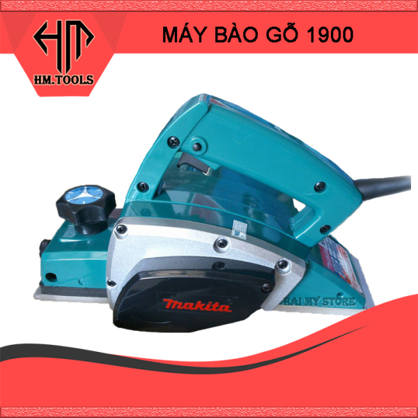 Máy Bào Gỗ Cầm Tay 82mm Makita 1900B - Máy bào gỗ 82mm Makita - Công suất 600w - Bảo hành 6 tháng