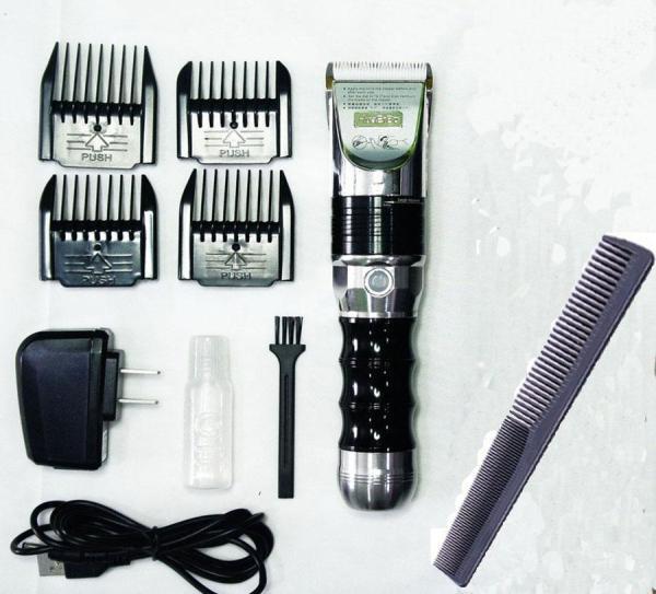 Tông Đơ Cắt Tóc Salon Chuyên Nghiệp HUAERBO B60(Màu ĐEN) TẶNG Lược Cắt Tóc giá rẻ