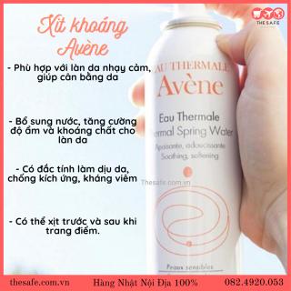 Xịt khoáng Avene 300ml [The Safe] thumbnail