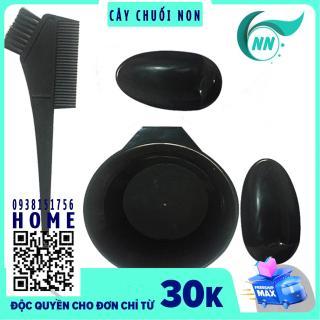 ComBo 1 bộ 4 món phụ kiện nhuộm tóc ( 1 Bát nhuộm , 1 Cọ nhuộm , 2 Đồ che tai ) thumbnail