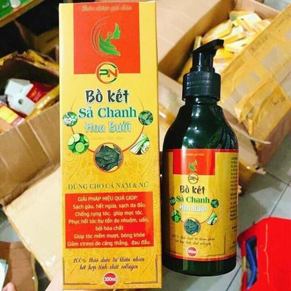 [HCM][Z] chai dầu gội đầu bồ kết sả chanh dưỡng tóc mềm mượt kích thích mọc tóc suông mượt óng ả 300ml giá rẻ