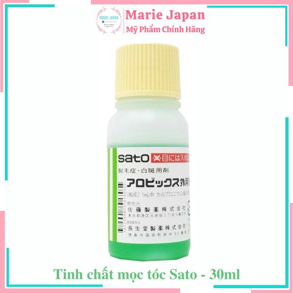 [HCM]Tinh chất mọc tóc ngăn rụng tóc Sato 30ml Nhật Bản