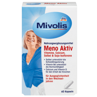 Viên Uống Cân Bằng Nội Tiết Tố Nữ Mivolis Meno Aktiv, 60 viên thumbnail