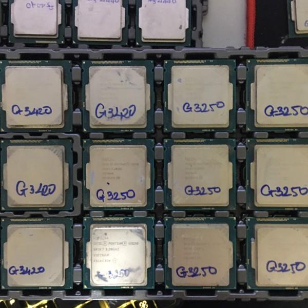 Bảng giá Bộ Vi Xử Lý CPU G2120 - G1840 - G3420 - G3250 - G3260 Sk 1150 Giá Rẻ Chuẩn - Vi Tính Bắc Hải Phong Vũ