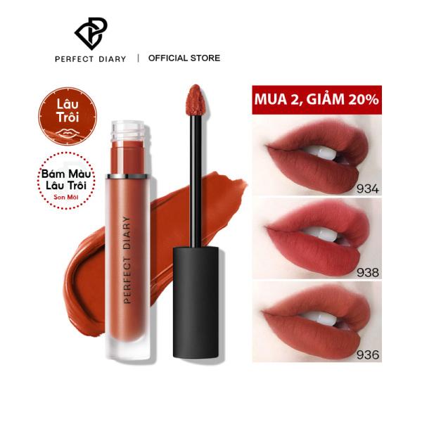 Perfect Diary Ultra Eternal Dreamworld Matte Liquid Lipstick Son Môi Lâu Trôi Kem Môi Trang Điểm Morden Series 9 giá rẻ