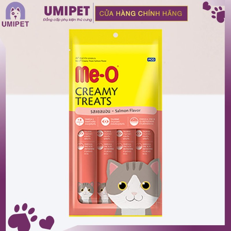 Súp thưởng Pate Me-O cho Mèo UMIPET - Bánh thưởng cao cấp cho Mèo - 4 tuýp