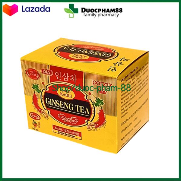 Qùa tặng trà sâm 10 gói tăng sức đề kháng mùa dịch